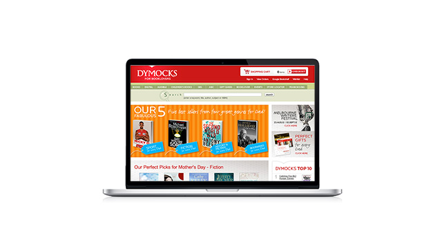 Dymocks Booksellers Website
