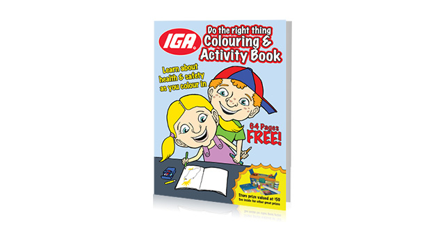 IGA Coloring Book