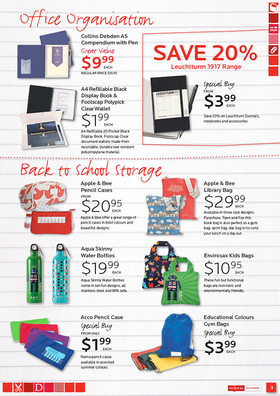 Dymocks Stationery Back to School 2012 - Page 3