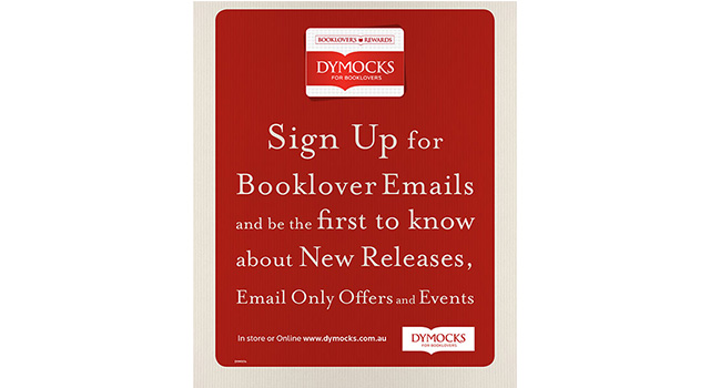 Dymocks Booklover Loyalty Program Poster 02