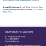 Center for Human Rights - Mobile example