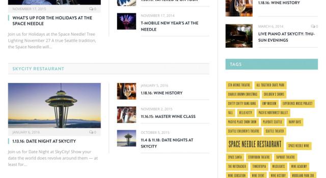 Space Needle News Homepage