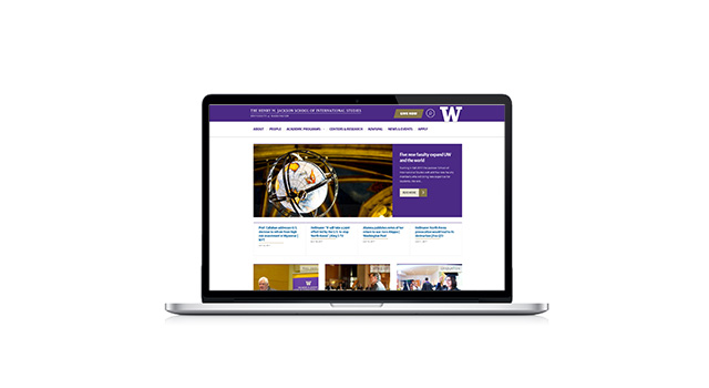 Jackson School of International Studies websites