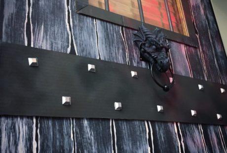 Halloween dragon door 2016 close up