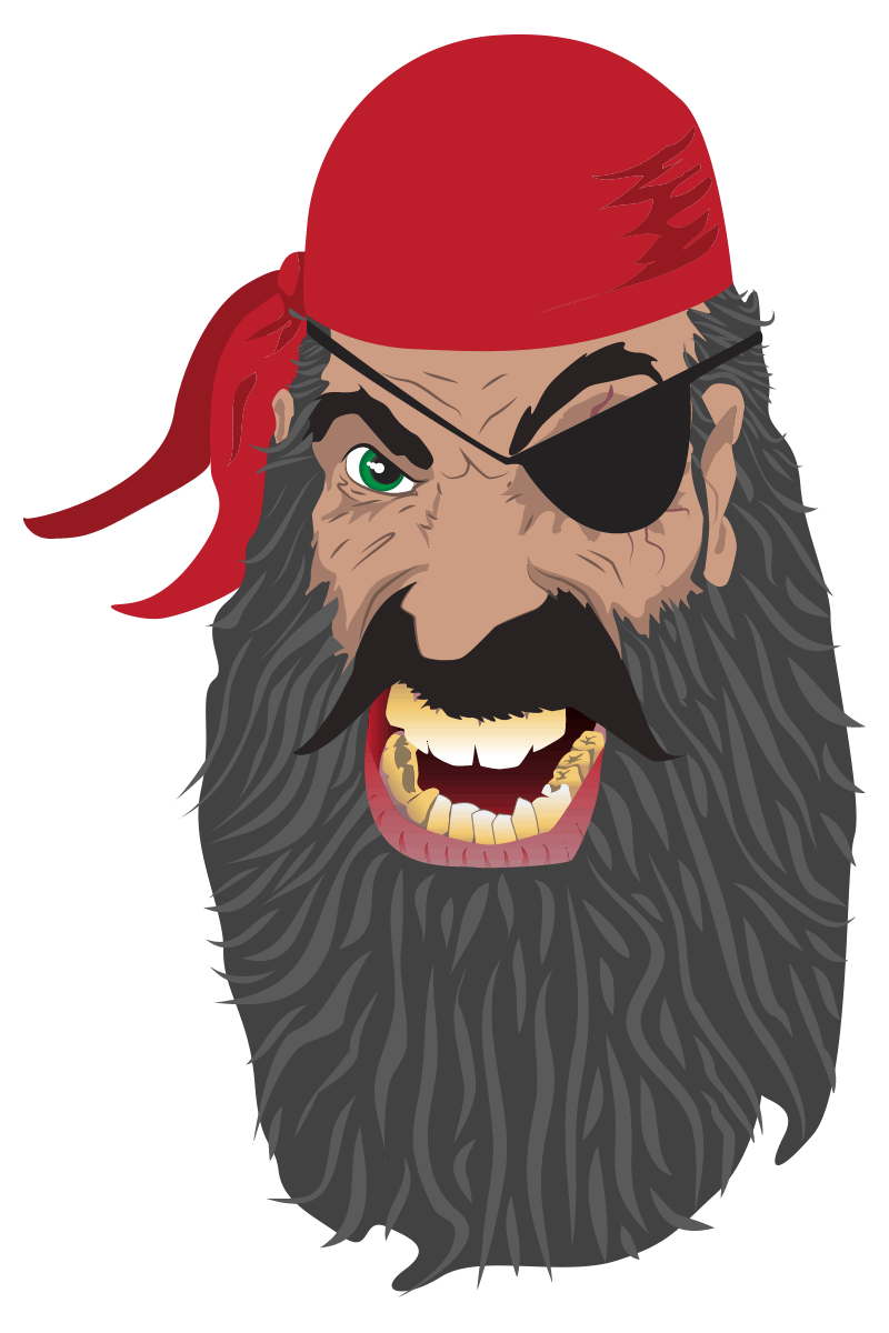 Pirate digital sketch
