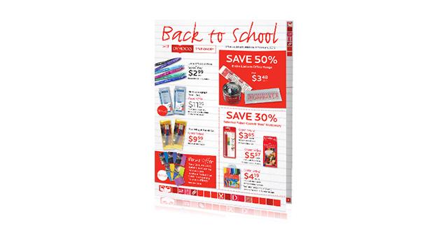 Dymocks Stationery Back to School 2012