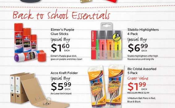 Dymocks Stationery Back to School 2012 - Page 2
