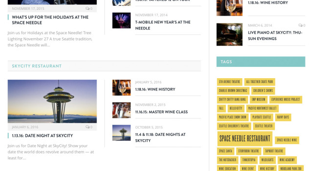 Space Needle News Homepage