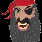 Pirate digital sketch